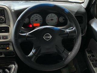 2010 Nissan Navara D22 MY2010 ST-R White 5 Speed Manual Utility
