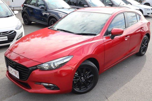Used Mazda 3 BN5478 Touring SKYACTIV-Drive Moorooka, 2017 Mazda 3 BN5478 Touring SKYACTIV-Drive Red 6 Speed Sports Automatic Hatchback