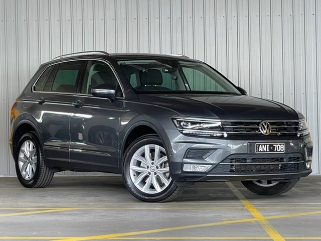 Used Volkswagen Tiguan 5N MY17 162TSI DSG 4MOTION Highline Moorabbin, 2017 Volkswagen Tiguan 5N MY17 162TSI DSG 4MOTION Highline Grey 7 Speed Sports Automatic Dual Clutch