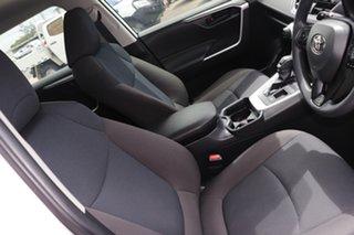 2020 Toyota RAV4 Axah52R GX 2WD Glacier White 6 Speed Constant Variable Wagon Hybrid