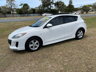 2012 Mazda 3 BL10F2 MY13 Maxx Activematic Sport White 5 Speed Sports Automatic Hatchback
