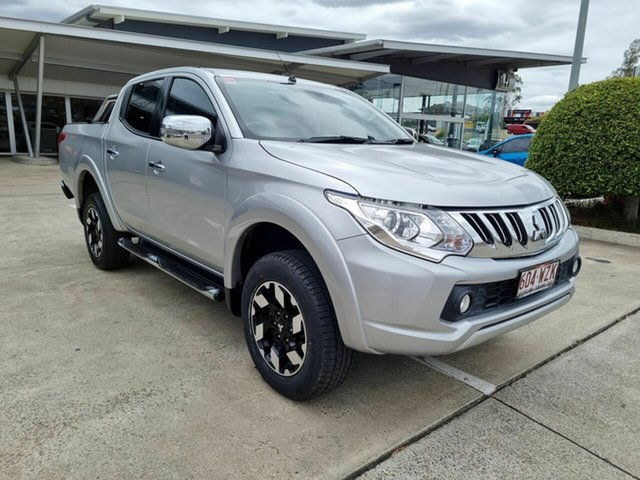 Used Mitsubishi Triton MQ MY16 Exceed Double Cab Yamanto, 2015 Mitsubishi Triton MQ MY16 Exceed Double Cab Silver 5 Speed Sports Automatic Utility