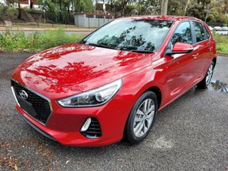 2018 Hyundai i30 PD2 MY18 Active Red 6 Speed Sports Automatic Hatchback