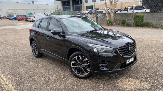 Used Mazda CX-5 MY15 Akera (4x4) Underwood, 2015 Mazda CX-5 MY15 Akera (4x4) Black 6 Speed Automatic Wagon