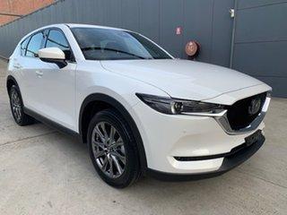 2021 Mazda CX-5 KF4WLA Akera SKYACTIV-Drive i-ACTIV AWD Snowflake White 6 Speed Sports Automatic.