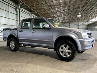 2004 Holden Rodeo RA LT Crew Cab Blue 5 Speed Manual Utility.