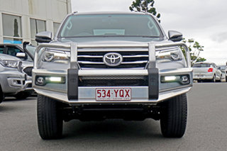 2018 Toyota Fortuner GUN156R Crusade Silver 6 Speed Automatic Wagon.