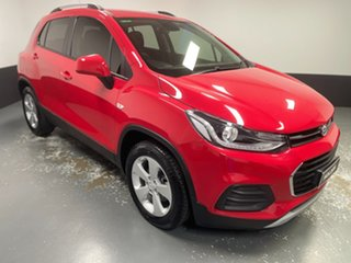 2018 Holden Trax TJ MY19 LS Red 6 Speed Automatic Wagon.