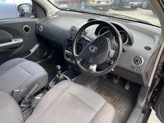 2007 Holden Barina TK MY07 Black 5 Speed Manual Hatchback