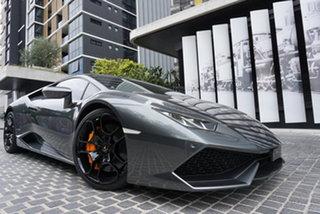 2015 Lamborghini Huracan 724 LP610-4 Grey 7 Speed Sports Automatic Dual Clutch Coupe.