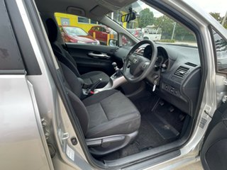 2010 Toyota Corolla ZRE152R MY10 Ascent Silver 6 Speed Manual Hatchback.