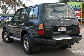 1997 Toyota Landcruiser FZJ80R 40th Anniversary Green 4 Speed Automatic Wagon.