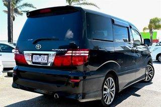2006 Toyota Alphard ANH10 Premium AS Platinum Black Automatic Mini Bus.