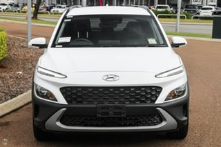 2021 Hyundai Kona Os.v4 MY21 Active 2WD White 8 Speed Constant Variable Wagon.