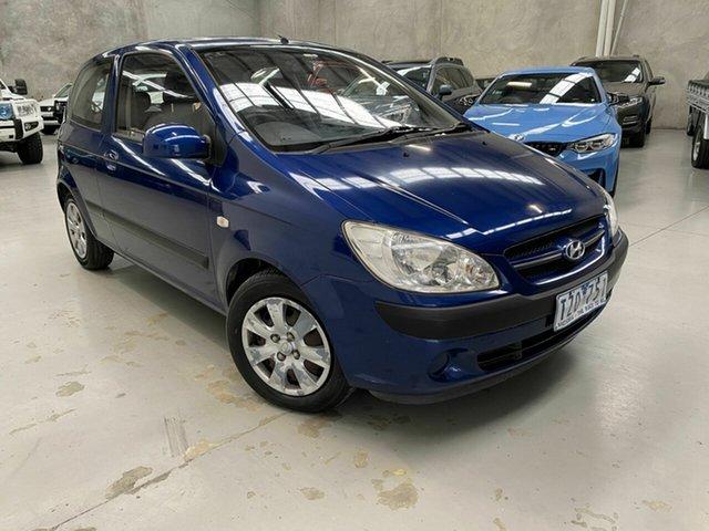 Used Hyundai Getz TB MY06 Coburg North, 2006 Hyundai Getz TB MY06 Blue 4 Speed Automatic Hatchback