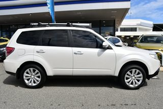 2011 Subaru Forester S3 MY11 XS AWD Satin White Pearl 4 Speed Sports Automatic Wagon