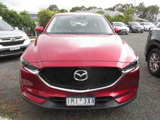 2018 Mazda CX-5 MY18 (KF Series 2) Maxx Sport (4x2) Red 6 Speed Automatic Wagon.