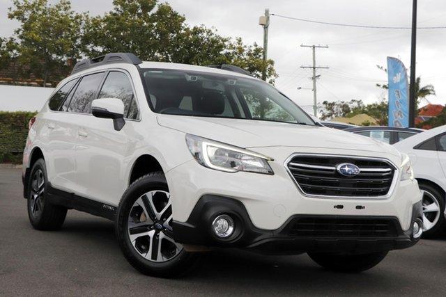 Used Subaru Outback B6A MY18 2.0D CVT AWD Mount Gravatt, 2018 Subaru Outback B6A MY18 2.0D CVT AWD White 7 Speed Constant Variable Wagon