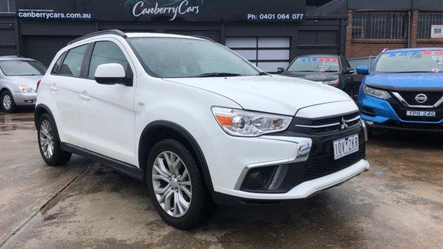 Used Mitsubishi ASX XC MY19 ES (2WD) Phillip, 2018 Mitsubishi ASX XC MY19 ES (2WD) White Continuous Variable Wagon
