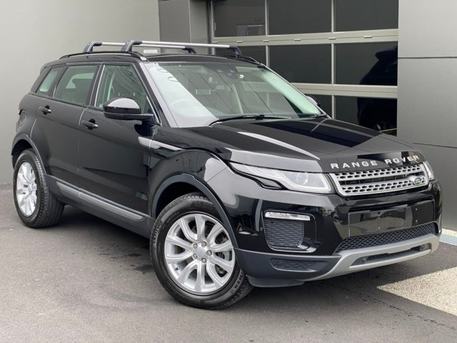 Used Land Rover Range Rover Evoque L538 MY18 TD4 150 SE Hobart, 2018 Land Rover Range Rover Evoque L538 MY18 TD4 150 SE Black 9 Speed Sports Automatic Wagon