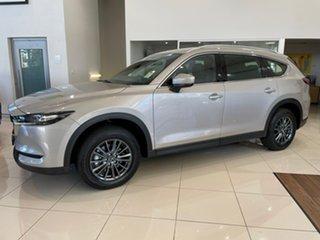 2021 Mazda CX-8 KG2WLA Touring SKYACTIV-Drive FWD Silver 6 Speed Sports Automatic Wagon