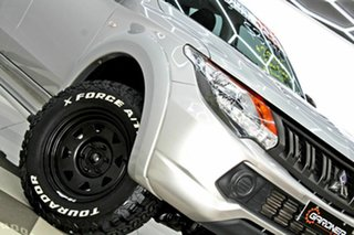 2018 Mitsubishi Triton MQ MY18 GLX Silver 5 Speed Automatic Dual Cab Utility.