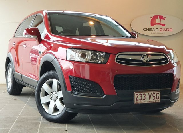 Used Holden Captiva CG MY15 7 LS Brendale, 2015 Holden Captiva CG MY15 7 LS Red 6 Speed Sports Automatic Wagon