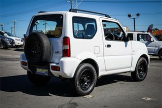 2015 Suzuki Jimny SN413 T6 Sierra White 4 Speed Automatic Hardtop