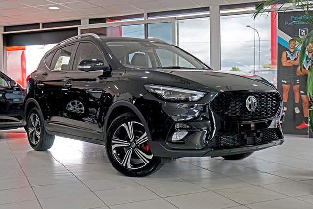 New MG ZST MY21 Excite Springwood, 2021 MG ZST MY21 Excite Black 6 Speed Automatic Wagon