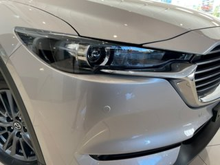 2021 Mazda CX-8 KG2WLA Touring SKYACTIV-Drive FWD Silver 6 Speed Sports Automatic Wagon.
