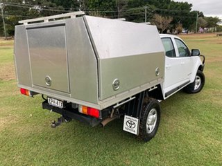 2018 Holden Colorado RG MY19 LS (4x4) (5Yr) 6 Speed Manual Crew Cab Chassis