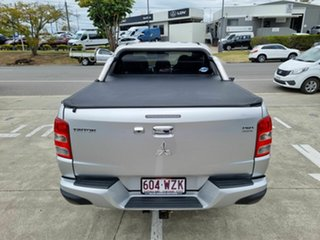 2015 Mitsubishi Triton MQ MY16 Exceed Double Cab Silver 5 Speed Sports Automatic Utility