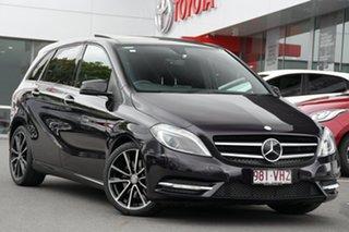 2014 Mercedes-Benz B-Class W246 B250 DCT Purple 7 Speed Sports Automatic Dual Clutch Hatchback.