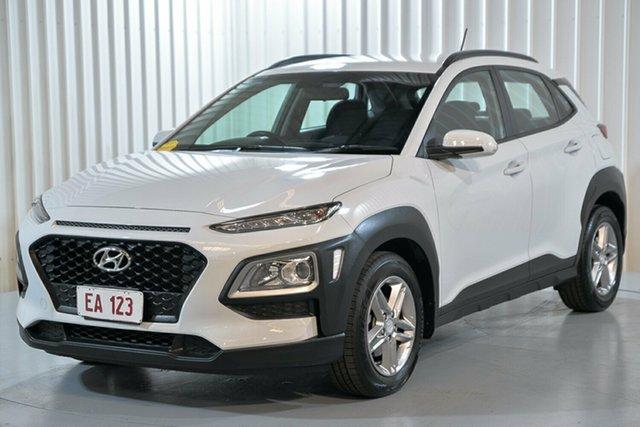 Used Hyundai Kona OS MY18 Active 2WD Hendra, 2018 Hyundai Kona OS MY18 Active 2WD White 6 Speed Sports Automatic Wagon