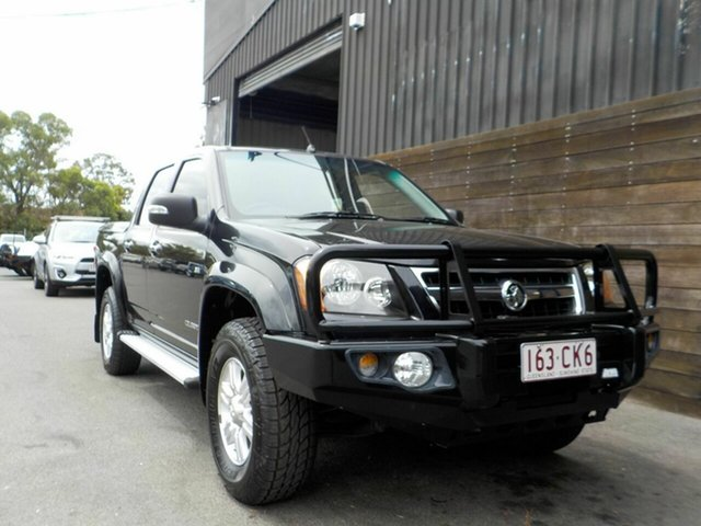 Used Holden Colorado RC MY09 LT-R Crew Cab 4x2 Labrador, 2009 Holden Colorado RC MY09 LT-R Crew Cab 4x2 Black 4 Speed Automatic Utility