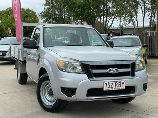 Used Ford Ranger PK XL Toowoomba, 2010 Ford Ranger PK XL Silver 5 Speed Manual Cab Chassis