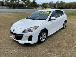 2012 Mazda 3 BL10F2 MY13 Maxx Activematic Sport White 5 Speed Sports Automatic Hatchback.