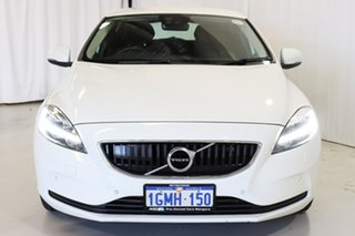 2018 Volvo V40 M Series MY18 T3 Adap Geartronic Momentum White 6 Speed Sports Automatic Hatchback