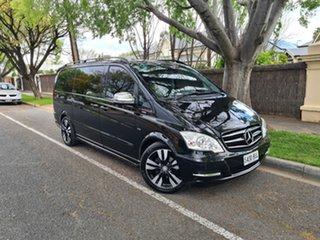 2013 Mercedes-Benz Viano 639 MY12 BlueEFFICIENCY Black 5 Speed Automatic Wagon.