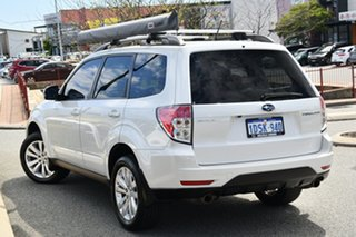 2011 Subaru Forester S3 MY11 XS AWD Satin White Pearl 4 Speed Sports Automatic Wagon.