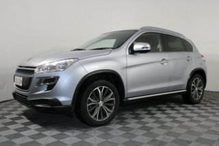 2013 Peugeot 4008 MY12 Active 2WD Silver 6 Speed Constant Variable Wagon.