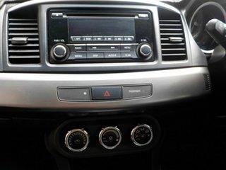 2014 Mitsubishi Lancer CJ MY14 ES Silver 6 Speed Constant Variable Sedan