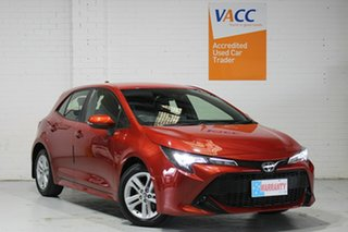 2018 Toyota Corolla Mzea12R Ascent Sport Red 10 Speed Constant Variable Hatchback.
