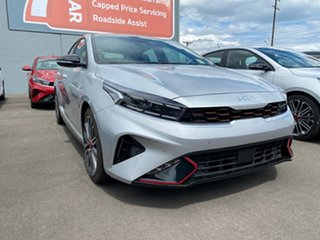 2021 Kia Cerato BD MY22 GT DCT Silky Silver 7 Speed Sports Automatic Dual Clutch Hatchback.