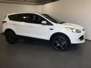 2013 Ford Kuga TF Ambiente 2WD White 6 Speed Manual Wagon
