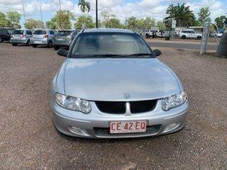 2002 Holden Commodore VX Silver 4 Speed Auto Active Select Sedan.