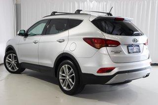 2016 Hyundai Santa Fe DM3 MY17 Highlander Silver 6 Speed Sports Automatic Wagon.