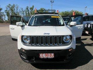2017 Jeep Renegade BU MY17 Longitude DDCT White 6 Speed Sports Automatic Dual Clutch Hatchback.