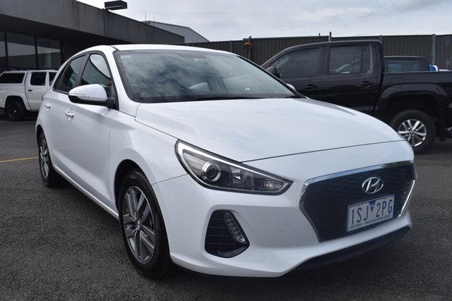 Used Hyundai i30 PD2 MY20 Active Wantirna South, 2020 Hyundai i30 PD2 MY20 Active White 6 Speed Sports Automatic Hatchback
