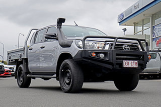 2019 Toyota Hilux GUN126R SR Double Cab Silver 6 Speed Sports Automatic Utility